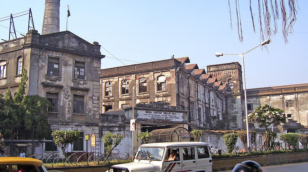 India United Mill, Parel | © Rohidas Gaonkar/WikiCommons