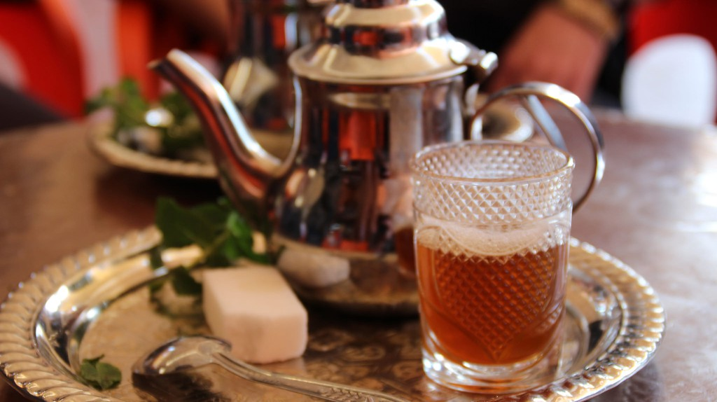Moroccan mint tea / © Thibaut Démare, Flickr