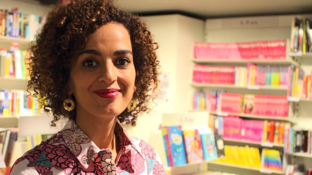 Leïla Slimani, taken at the Librairie Decitre in September 2016 | ©ActuaLitté/Flickr