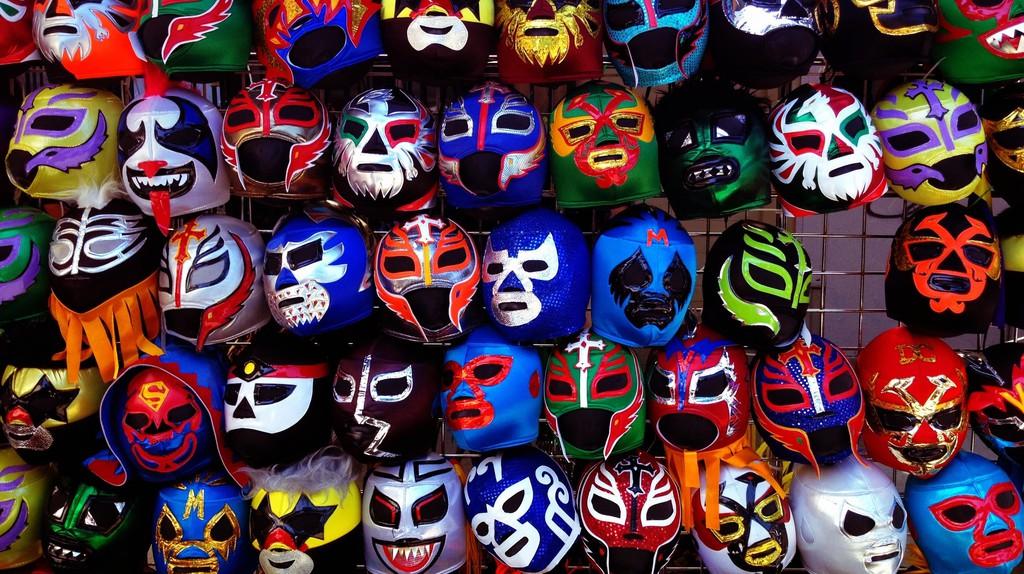 Lucha libre masks | © yameen9000/Flickr