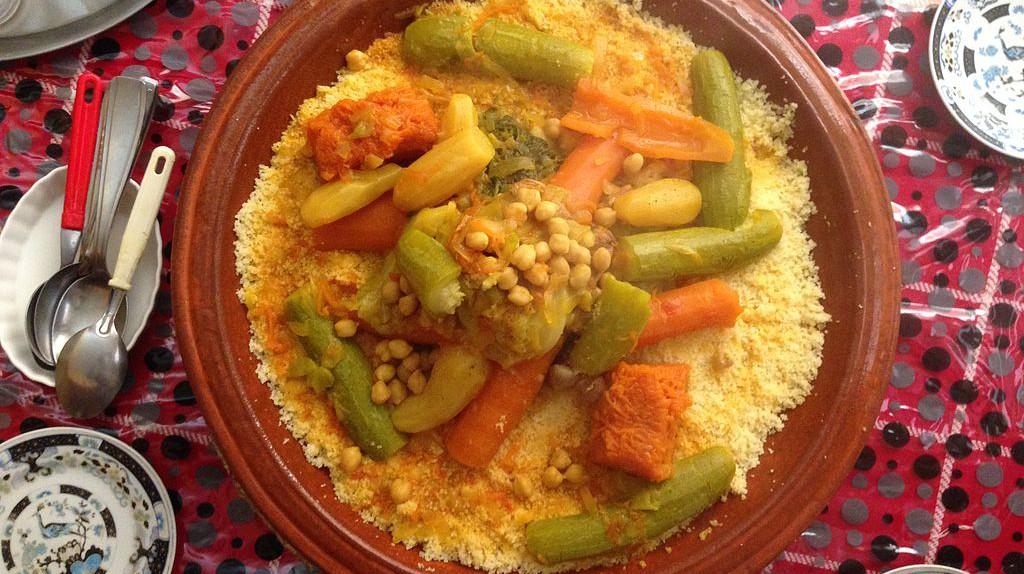 Moroccan couscous   © Iasalarzai / WikiCommons