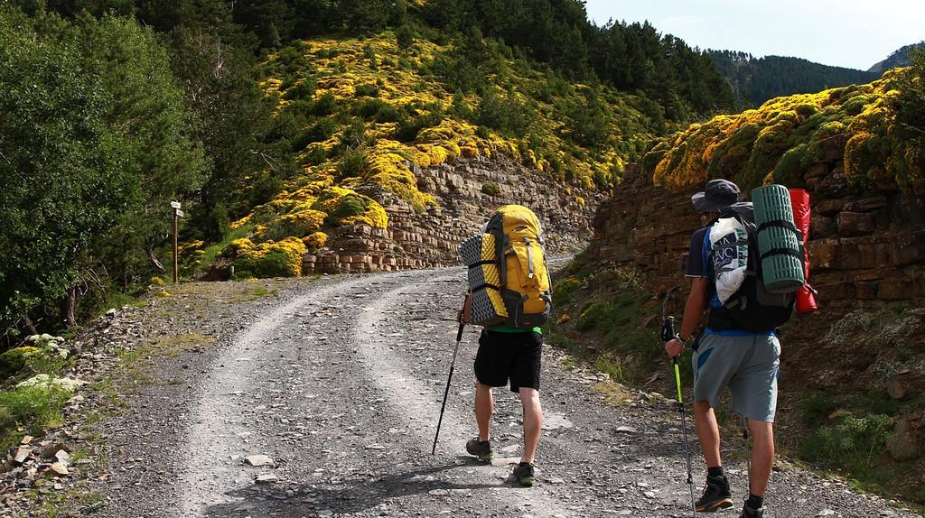Hiking in the Pyrenees © Lisa Redfern