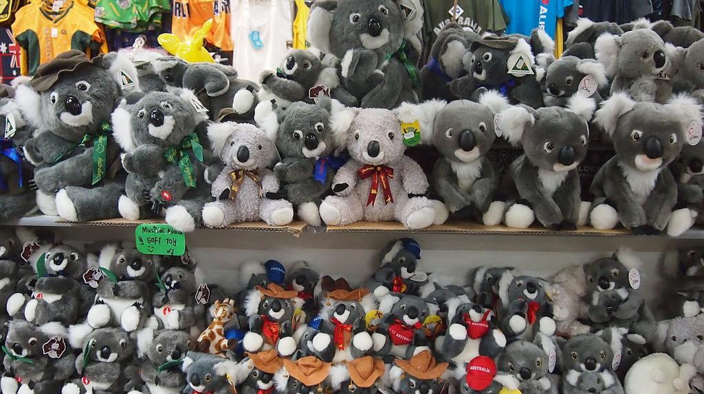 Koala souvenirs   © Bahudhara/WikiCommons