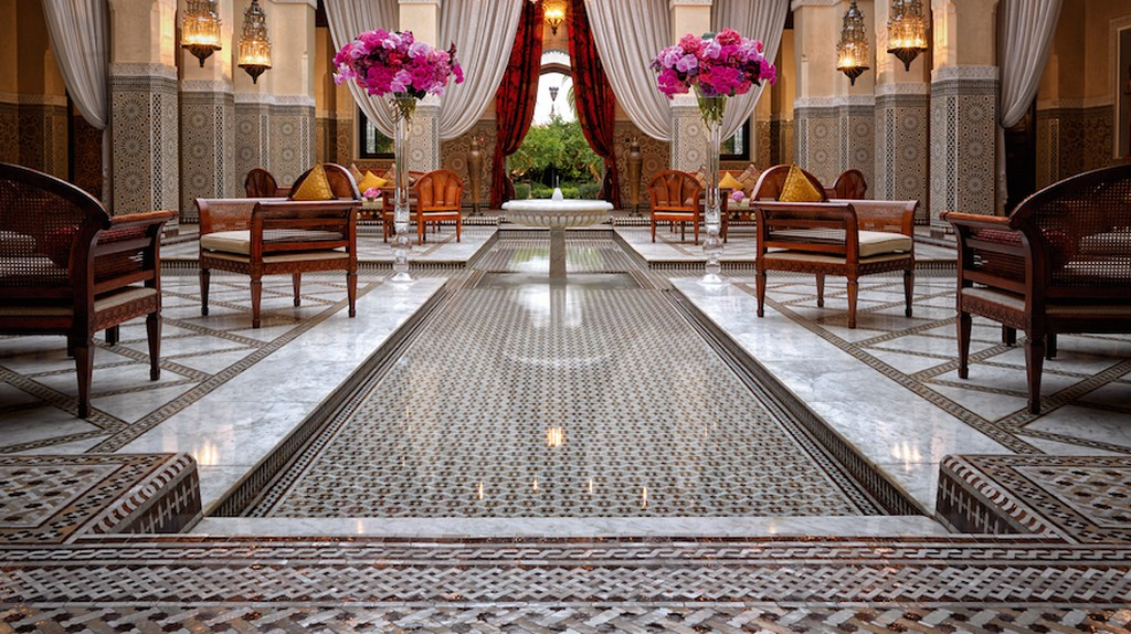 Lobby at the Royal Mansour