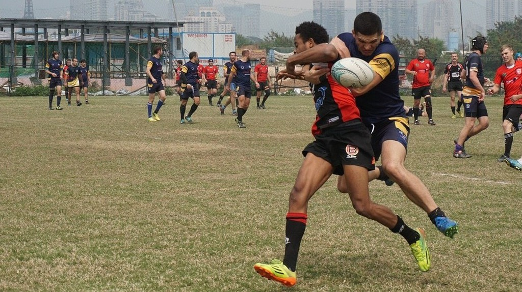 Men's rugby match │© alliemcdowell / Pixabay