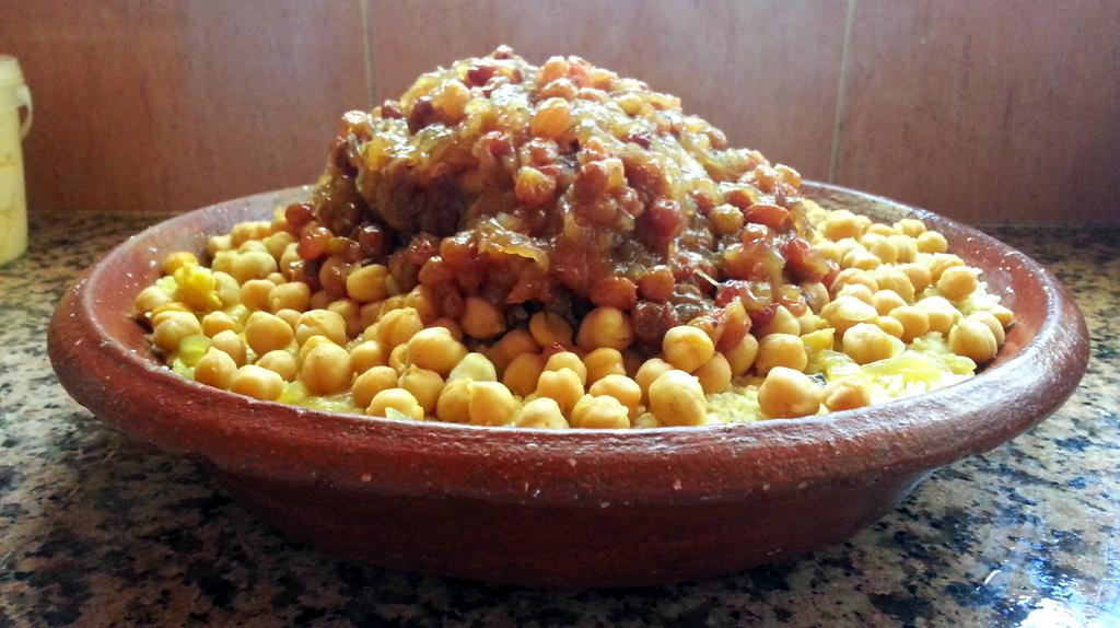Moroccan tfaya couscous | © Ghizwa \ WikiCommons
