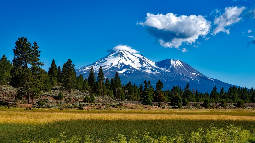 Mount Shasta   Public Domain/Pixabay