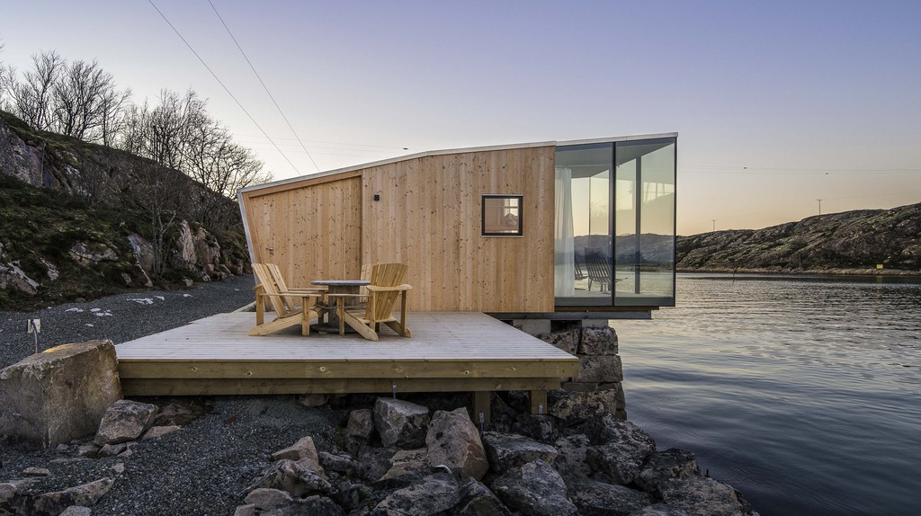 By Stinessen Arkitektur, photography by Steve King, from The Hinterland