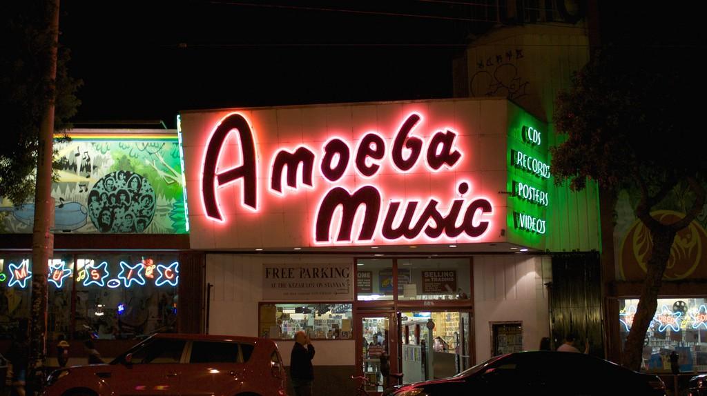 Amoeba Music © Stephen Kelly/Flickr