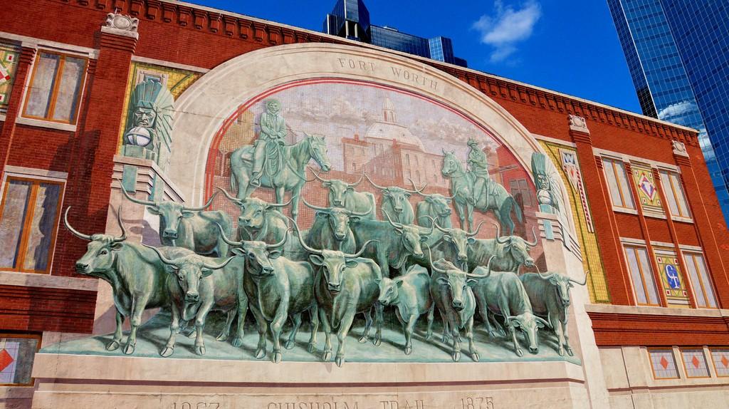 Chisholm Trail Fort Worth, TX | © www.GlynLowe.com/Flickr