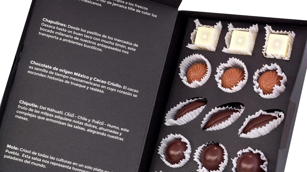 Beautifully presented chocolates | Courtesy of Le Caméléon