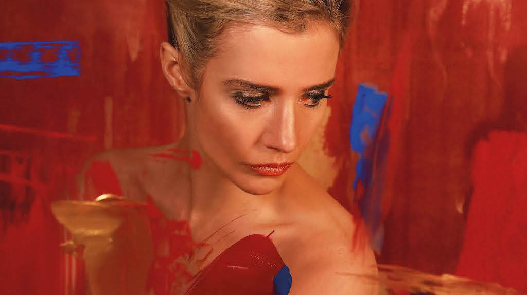 Lisa Dwan in Tolstoy's Anna Karenina by Marina Carr at the Abbey Theatre   Courtesy of The Abbey Theatre