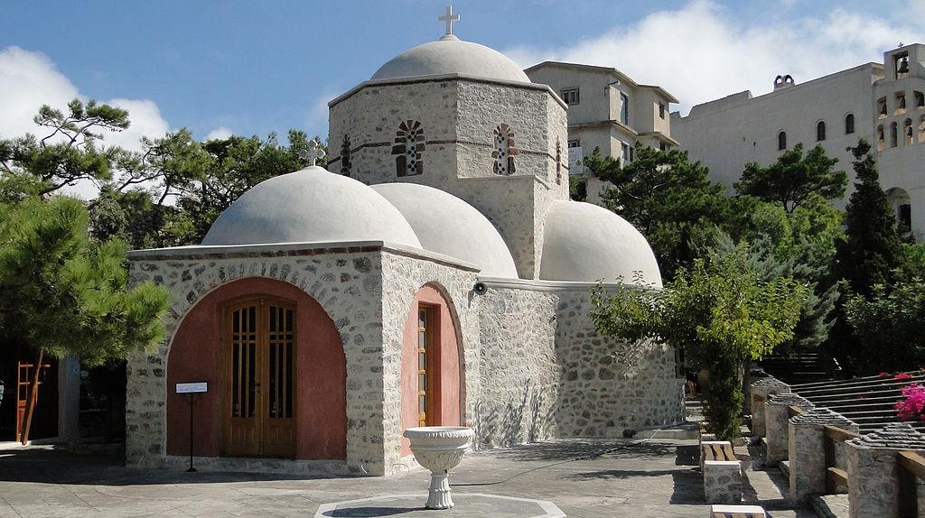 Chapel of the Monastery of Profitis Ilias, Santorini, Greece | © Bernard Gagnon