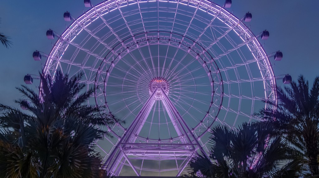 Witness incredible views from the Orlando Eye | © Jeff Turner / Flickr