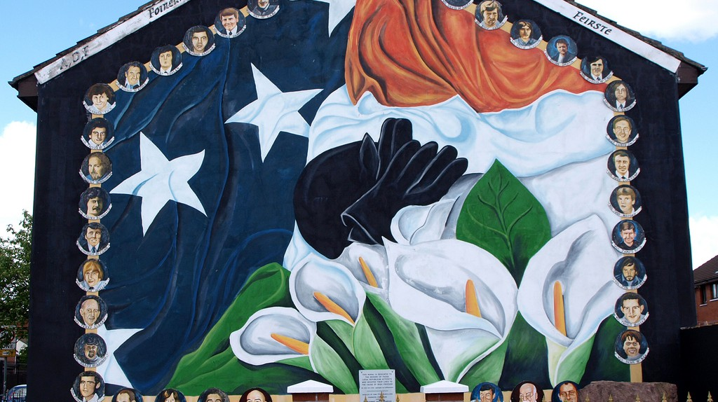 Irish Nationalism Mural | © Iker Merodio / Flickr