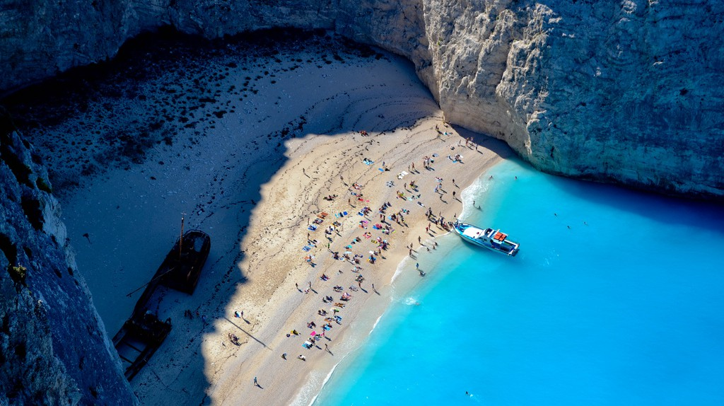 Navagio Beach  | © Mark Richards/Flickr