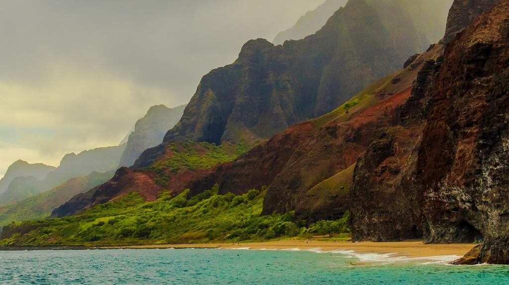 Na Pali Coast, Kauai | © n4rwhals/Flickr
