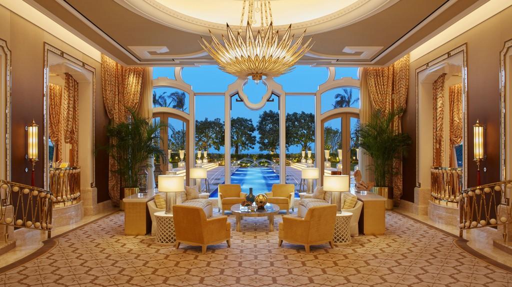 Garden villa living room at Wynn Palace | Courtesy of Wynn Resorts