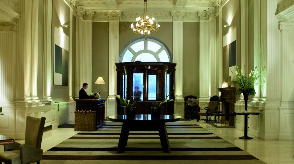 The Balmoral Lobby | Courtesy Of Rocco Forte Hotels