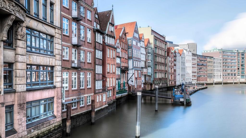 Nikolaifleet, Hamburg, Germany.