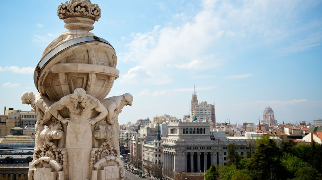 A view of Madrid taken from the Cibeles rooftop   © Madrid Destino Cultura Turismo y Negocio
