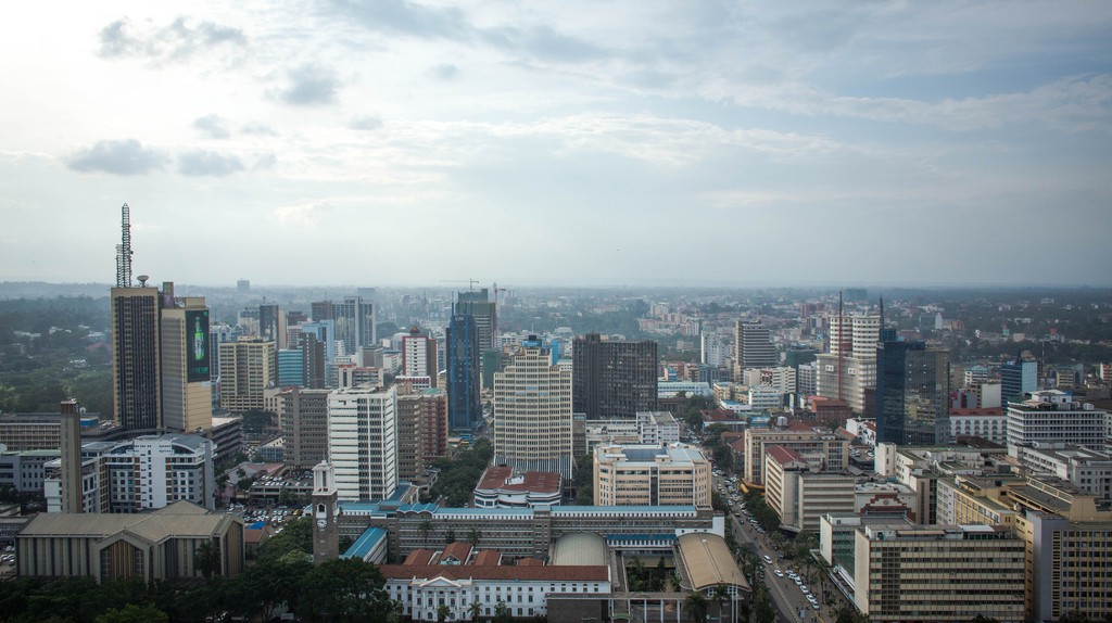 Nairobi skyline   © Make It Kenya Photo / Stuart Price / Flickr