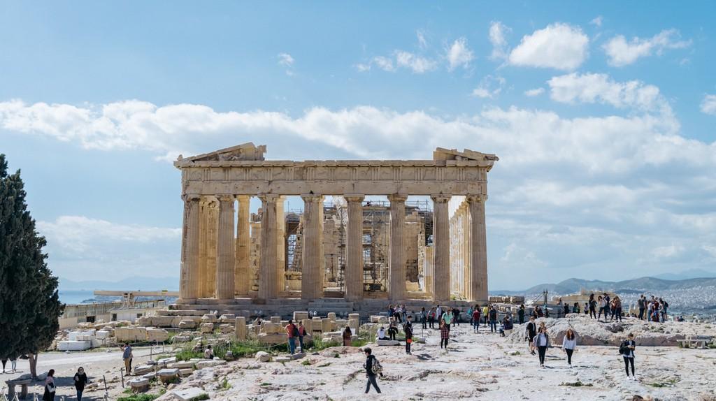 Parthenon temple, Acropolis, Athens