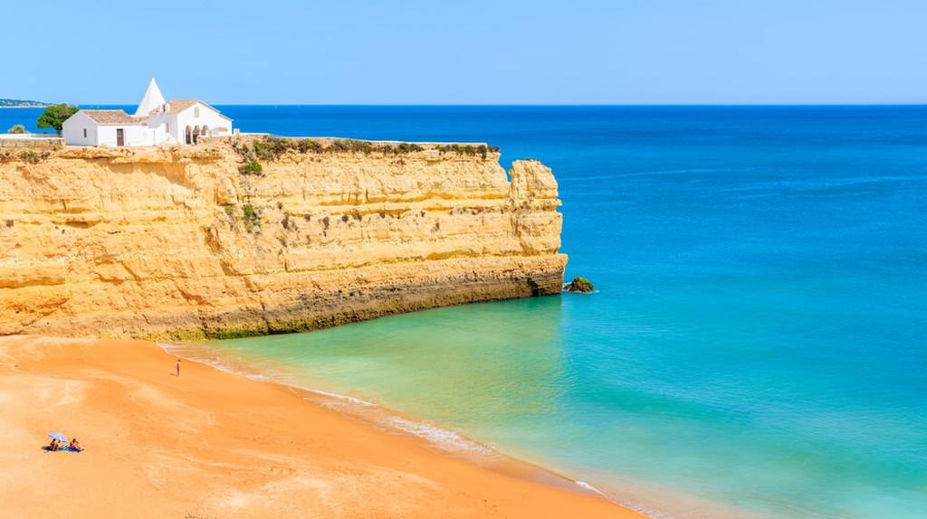 Armacao de Pera town , Algarve, Portugal