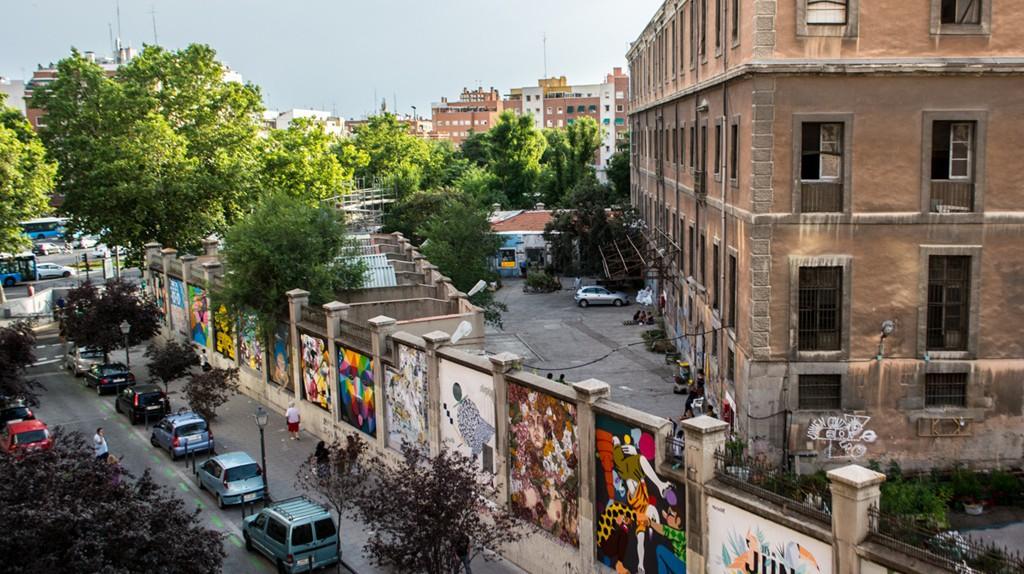Street art in Madrid   © Guillermo de la Madrid / Madrid Street Art Project