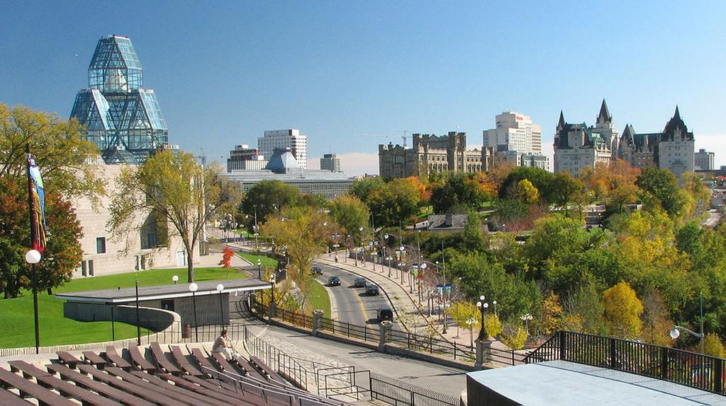 Ottawa as seen from Port Champlain | Public Domain / WikiCommons