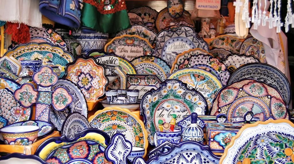 Talavera pottery | © Russ Bowling/Flickr