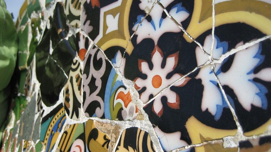 Detail of Park Güell  © Bennett