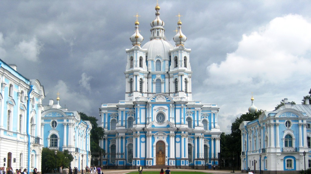 Smolny Cathedral, Saint Petersburg | © Wikimedia Commons