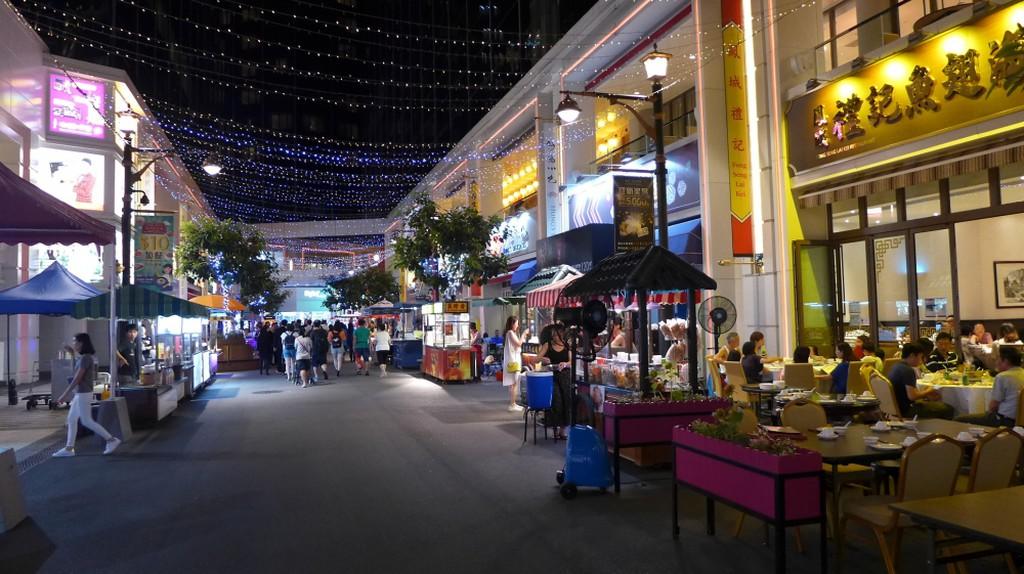 Food Street at Broadway Macau | courtesy of Galaxy Entertainment