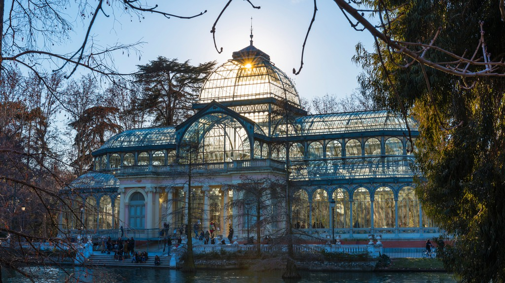 Crystal Palace in the Retiro Park  © Andres Garcia Martin/Shutterstock
