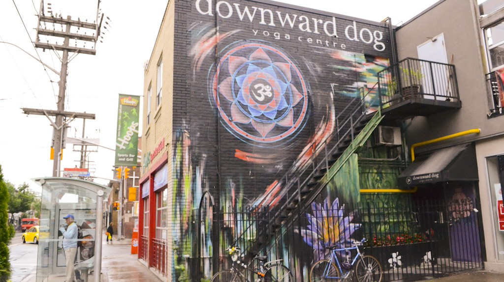 Downward Dog on Queen West | Courtesy of Downward Dog Yoga Centre