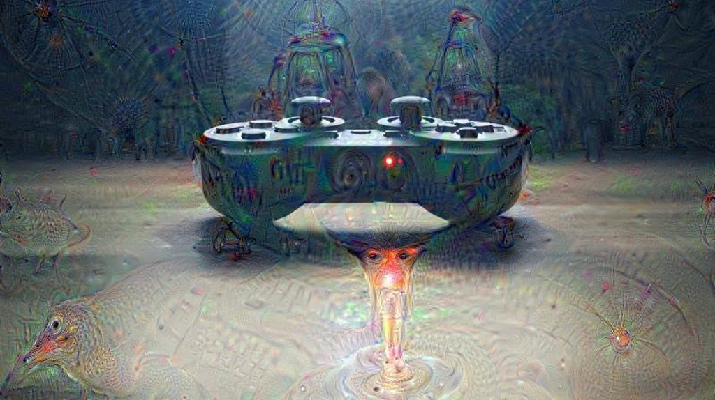 An image put through Google's DeepDream project. | Courtesy Google.