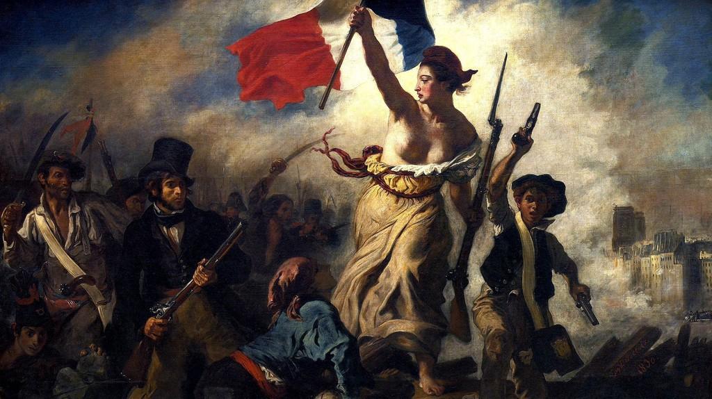 Eugène Delacroix - La liberté guidant le people (1830) │© Eugène Delacroix / WikiCommons