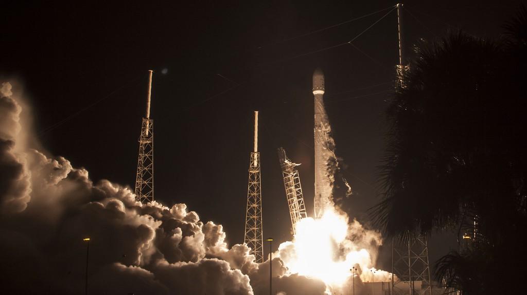 JCSAT Liftoff.   Courtesy SpaceX.