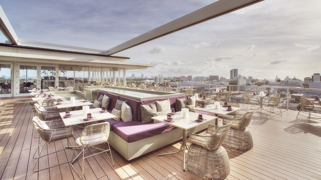 Enjoy delicious cuisine and excellent views at Juvia   Courtesy of Juvia