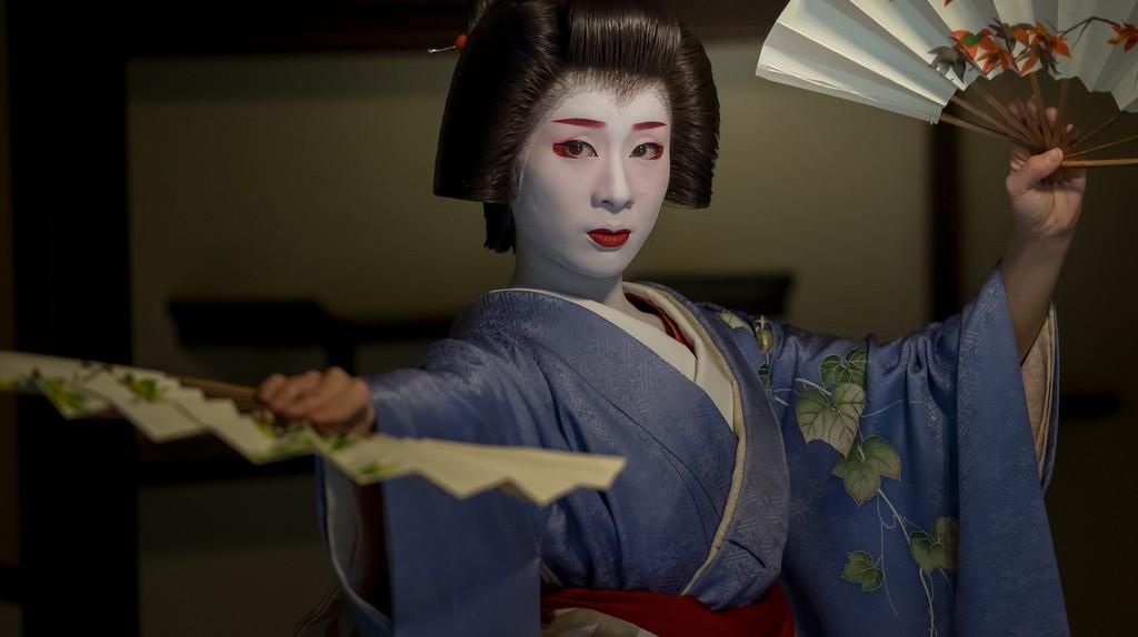 Geiko Miharu at Nijyojinya| © kyoto flowertourism  Flickr