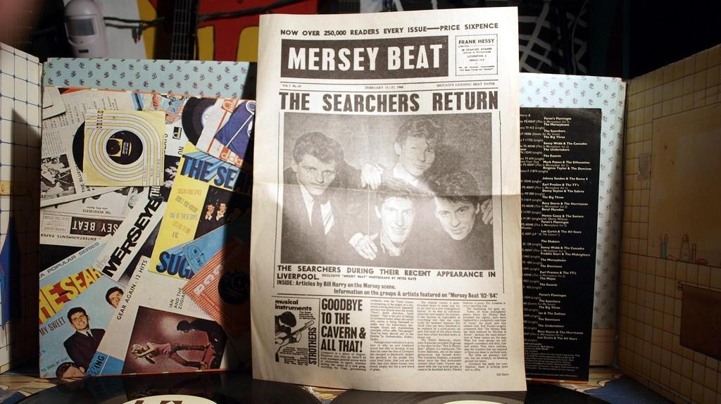 Mersey Beat paper | © badgreeb RECORDS / Flickr