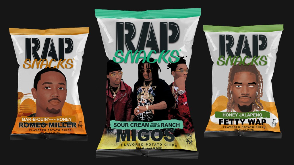 Courtesy of Rap Snacks