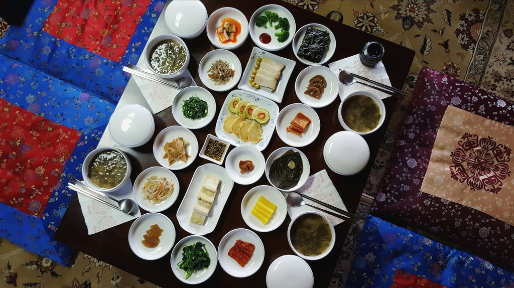 Jeonju-style breakfast at the Hakindang House | © Mimsie Ladner