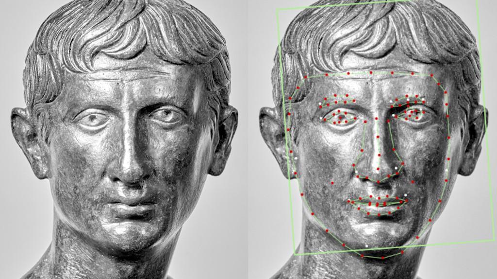 Bust of the emperor Augustus Fondation Gandur pour l'Art, Geneva   Courtesy of Musée de la Civilisation