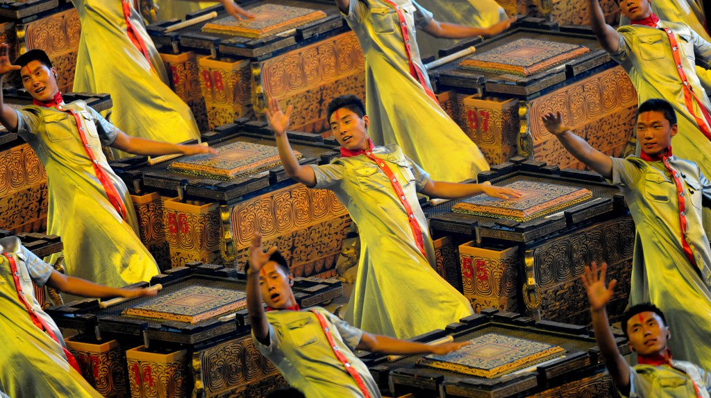 2008 Beijing Olympics Opening Ceremony Directed by Zhang Yimou    ©U.S. Army/Flickr