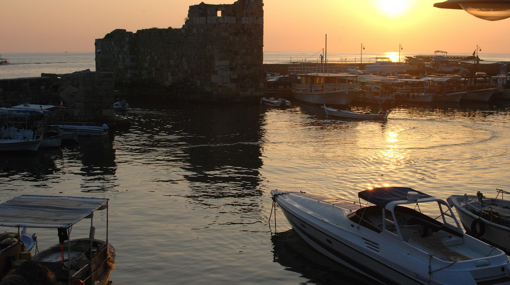 Sunset, Byblos | © Karan Jain/ Flickr