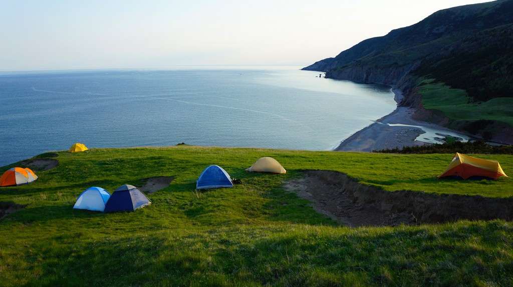 Camping in Cape Breton National Park, Nova Scotia   © Nicole Bratt / Flickr