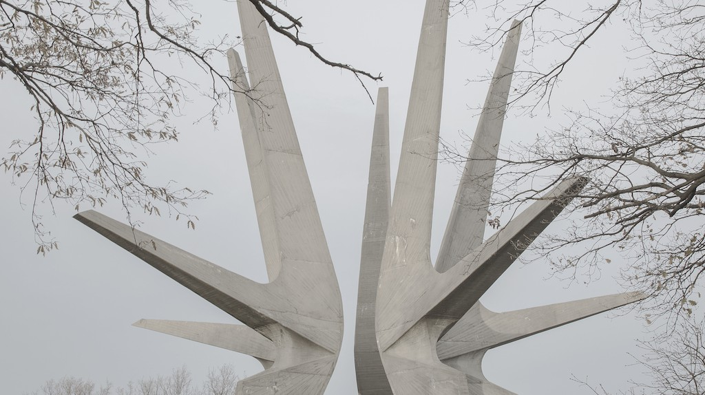Jovana Mladenovic, Kosmaj Monument, 2016. | courtesy of Midas PR