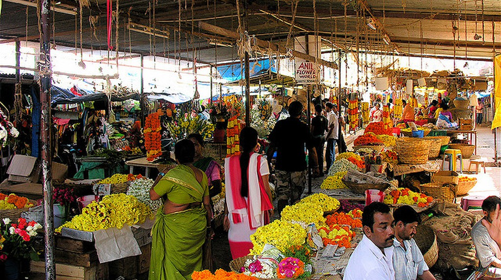 Panaji Market, Goa | © Jon Hurd/Flickr
